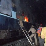 Fire in Nanded-Bangalore Express; 26 killed
