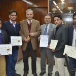 AMU management students won the signature event at youth festival