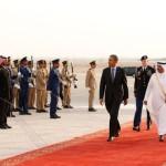 Barack Obama in Saudi Arabia for talks on U.S role in Middle East