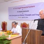 4th KP Singh Memorial Lecture held