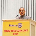 Hon'ble President of India inaugurates Rotary International's Polio Free campaign