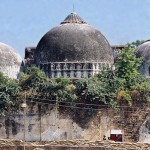Fresh stone laden trucks arrive at Ayodhya