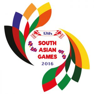 12th South Asian Games logo