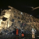 14 dead, over hundred missing as strong quake hits Taiwan